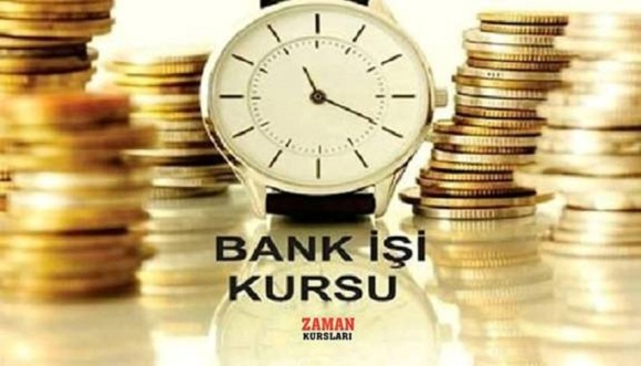 Zaman Kursları Bank işi mövzusunda kurslar təşkil edir.