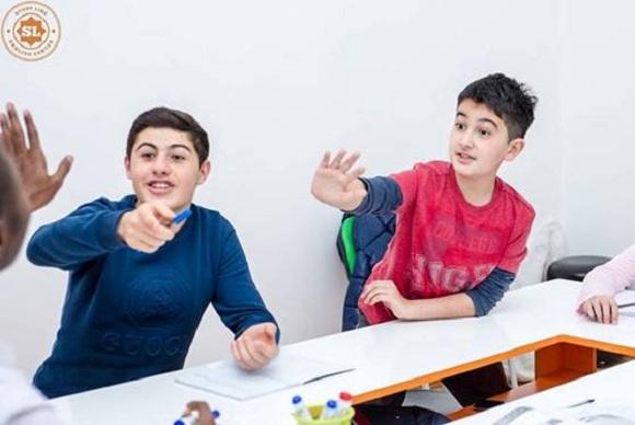 Uşaqlar üçün Xüsusi İngilis dili proqrami