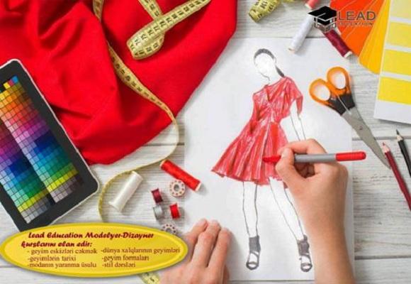 Modelyer-dizayner kurslarına tələsin
