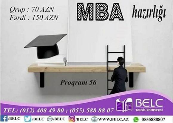 Magistraturanın II mərhələsi üzrə MBA Proqramına hazırlıq kurslarına gəlin - 1