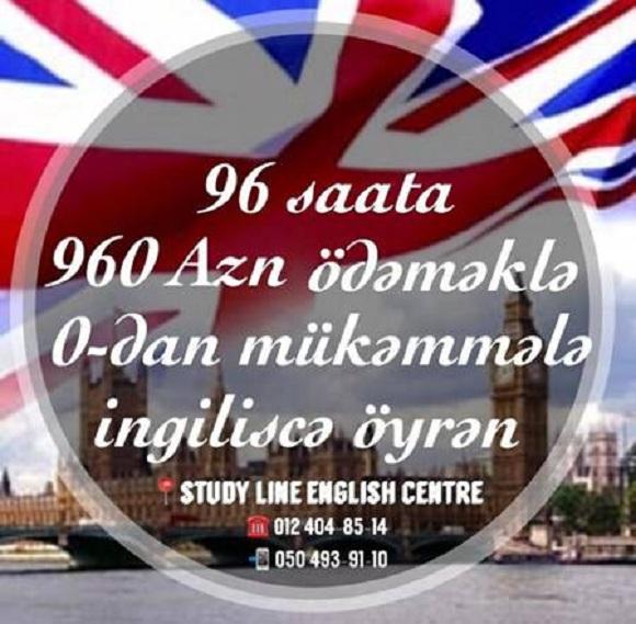 STUDY LINE sizi GENERAL ENGLISH kurslarina dəvət edir. - 1