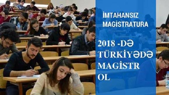 Türkiyədə magistratura və doktora hazırlığı - 1
