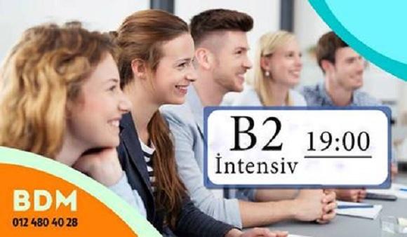 Yeni B2 intensiv qrupuna qoşulmaq şansını qaçırmayın - 1