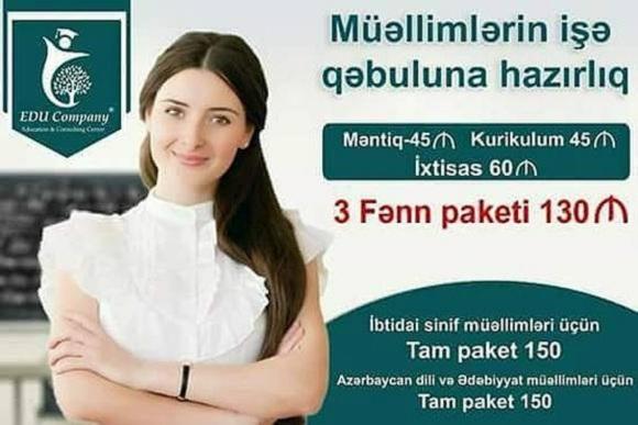 Müəllimlərin işə qəbuluna hazırlıq - 1