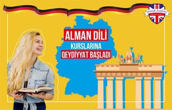 ALMAN DİLİ dərslərindən yeni qruplara qeydiyyat - 1