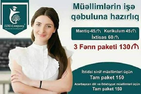 Müəllim olmaq istəyənlərin nəzərinə! - 1