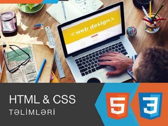 HTML və CSS təlimləri, tələbələrə 20% endirim - 1