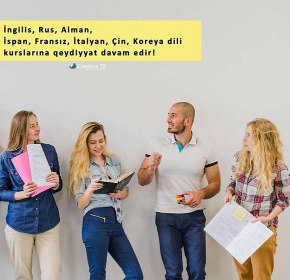 İngilis , Rus, Alman, Fransız, İspan, Çin dili kurslarına ENDİRİM davam edir!!! - 1