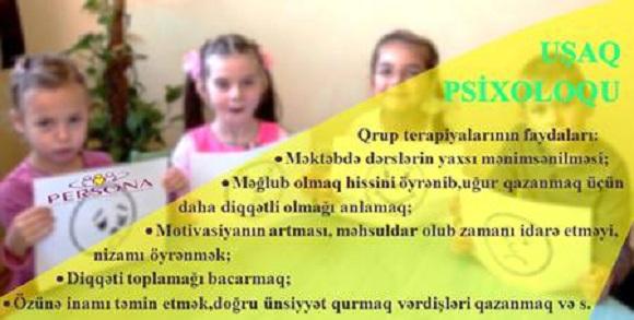 Uşaq psixoloqu - 1