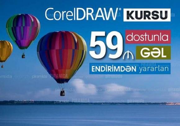 Corel Draw Kursuna yazıl və endirim al - 1