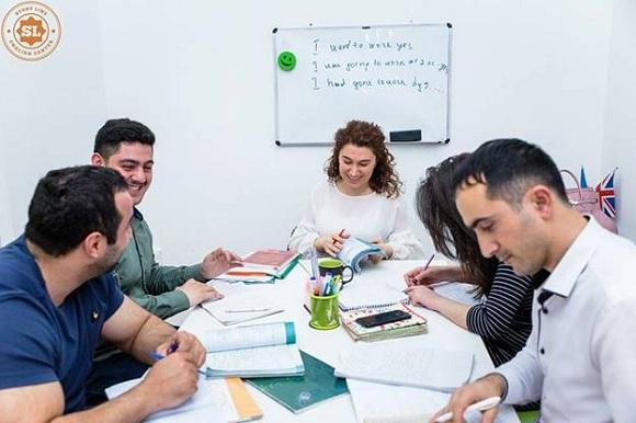 GENERAL ENGLISH kursları STUDY LINE - 1