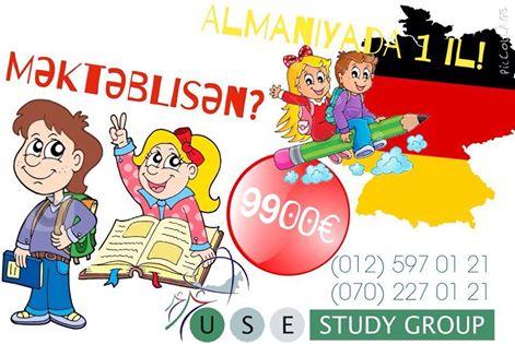 Almaniyada USE High School Program start verdi! (USE Study Group) - 1