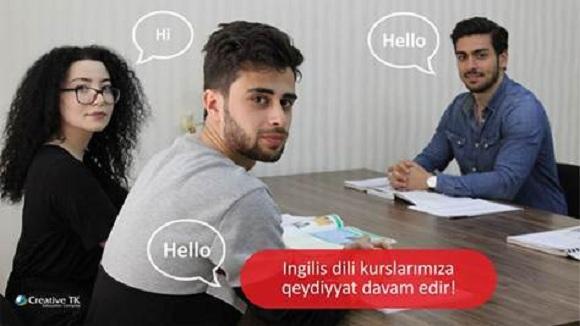 İngilis dilini bizimlə öyrənin - 1