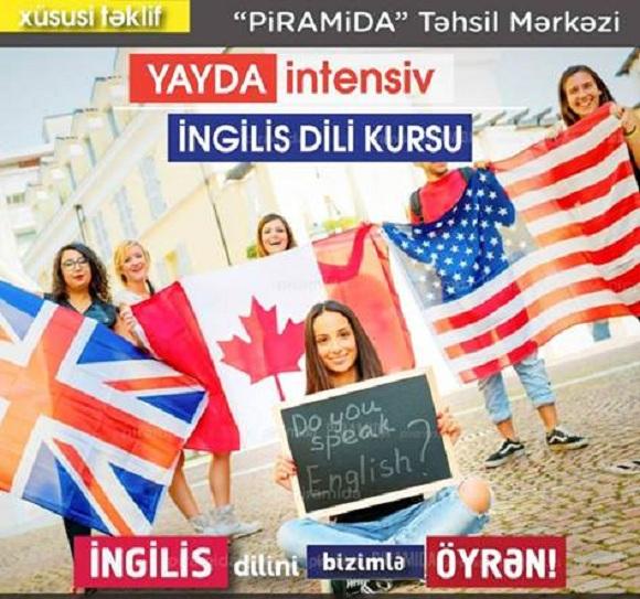 Yay Ayları ərzində İntensiv İngilis Dili Kursları - 1