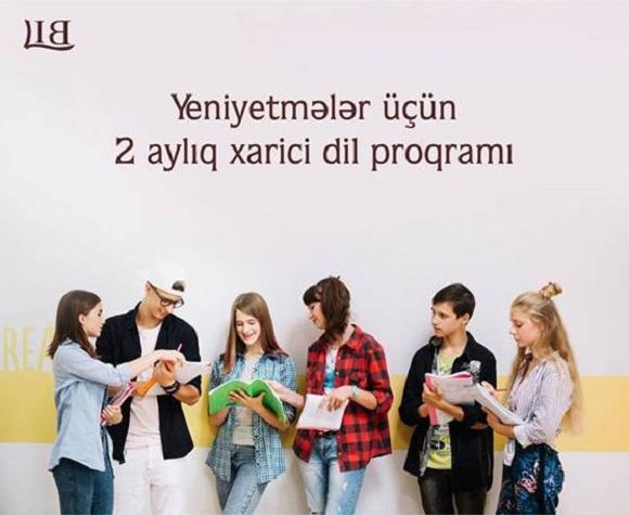 Yeniyetmələr üçün 2 aylıq xarici dili proqramı - 1