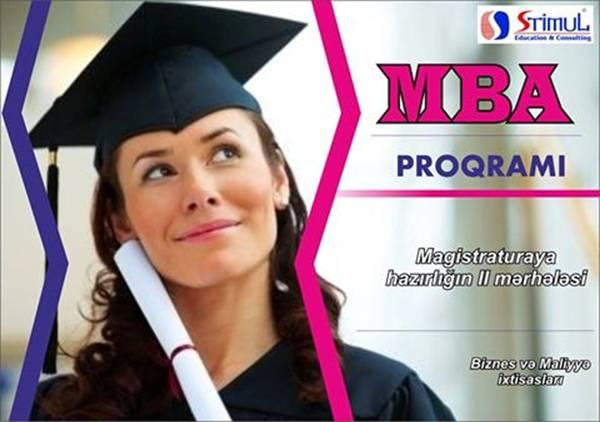 MBA proqramına hazırlıq üzrə qeydiyyat davam edir (STIMUL Education Consulting) - 1