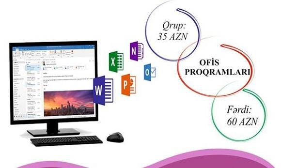 MS Office kursu həftədə 3 dəfə - 1