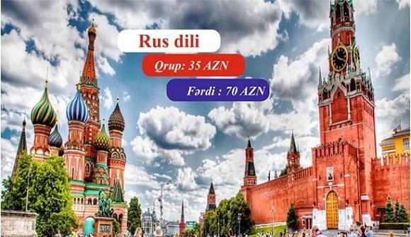 Rus-dili kursları müxtəlif səviyyələrdə - 1