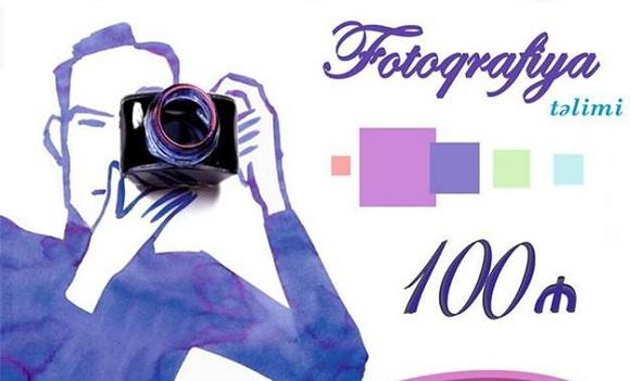 Fotoqrafiya təlimi - 1