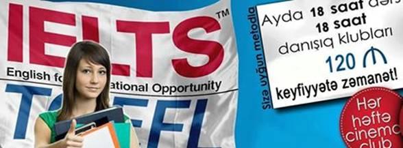 TOEFL, IELTS, GMAT, GRE üzrə hazırlıq proqramlarına endirim elan edirdi (DAHİ) - 1