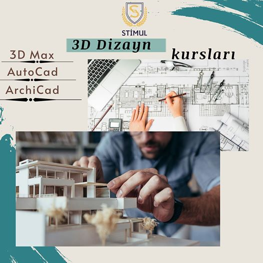 3D dizayn kursları (3D max, AutoCAD, ArchiCad) - 1