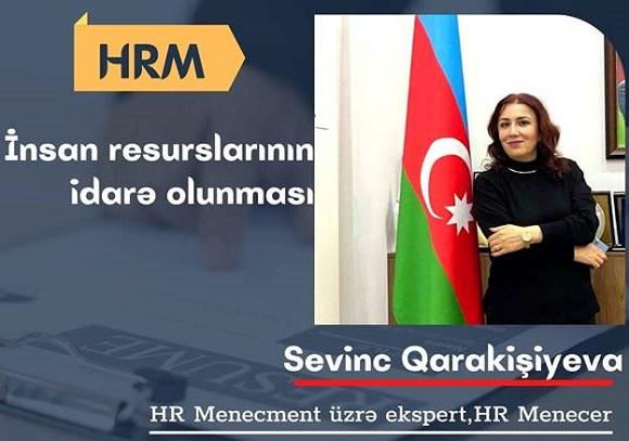 HRM - İnsan Resurslarının İdarə olunması - 1