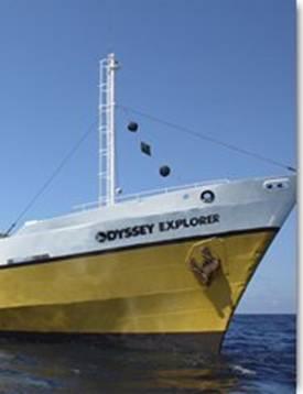 Atlantik okeanında göyərtəsində 200 t gümüş olan gəmi tapılmışdır - 1