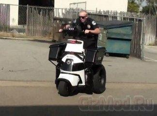 Polislər üçün yeni skuter - 1