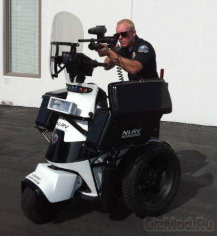 Polislər üçün yeni skuter - 3