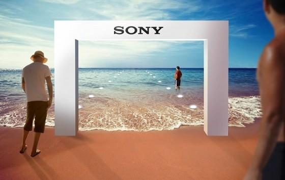 Sony sualtı mağazaya dəvət edir - 3