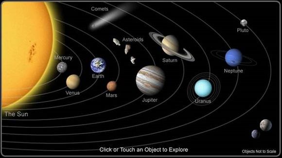 Günəş sistemi reallıqda nə qədər böyükdür? (real video misal) - 1