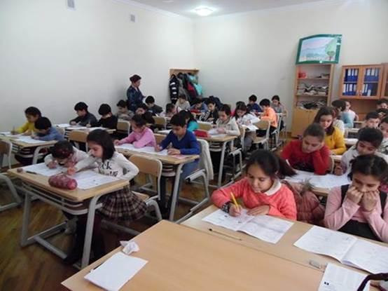 233 - Bakı Slavyan Universitetinin Məktəb Lisey Kompleksində qəbul sınaq imtahanı başlayacaq
