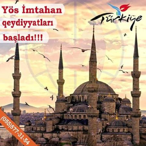 YÖS Qəbul İmtahanlarının qeydiyyatları başladı!