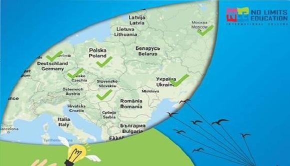 Almaniya, Macarstan, Ukaryna, Polşa, Çexiya təhsilinizi davam eliyin