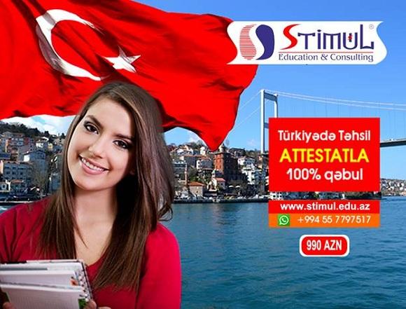 Türkiyə Universitetlərinə imtahansız ATTESTATLA Qəbul - 1