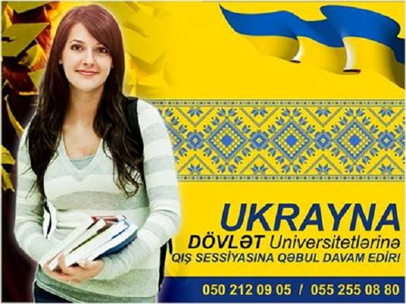 Ukrayna DÖVLƏT Universitetlərində BAKALAVR və MAGİSTR ol
